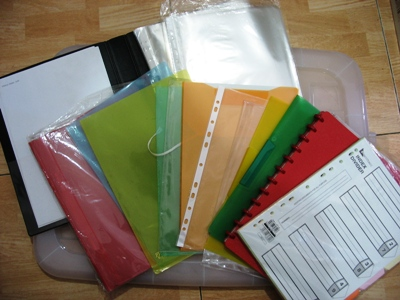 Folders/File Pockets