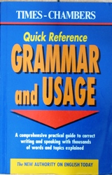 Quick Reference Grammar and Usage